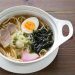 魚介スープがおいしいラーメン。化学調味料無添加で油分を控えているので、後味さっぱり。健康とうまさを両立させました。